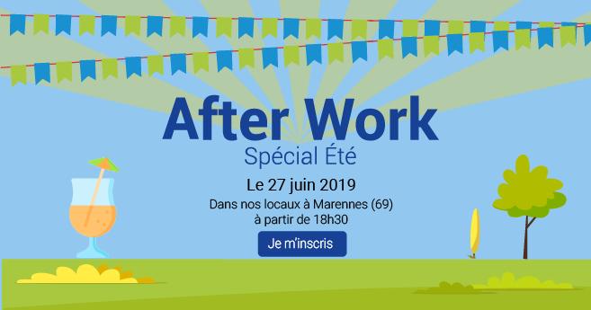 Invitation After Work 27 juin 2019